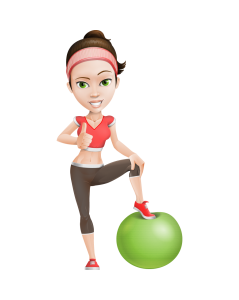 CSG-Fitness_Girl-Swiss-Ball