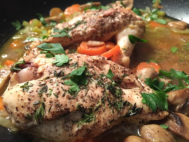 chicken meal for muscle growth